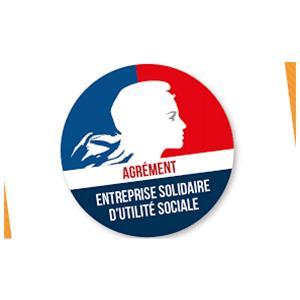 Logo Agrément Entreprise Solidaire d'Utilité Sociale