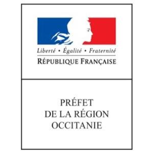 Logo du Préfet de la Région Occitanie